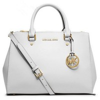 Michael Kors MK Women Shopping Leather Tote Crossbody Satchel Shoulder Bag