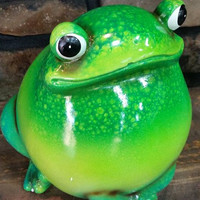 Chubby fat Green Frog *8083*