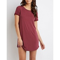Skimmer T-Shirt Dress | Charlotte Russe