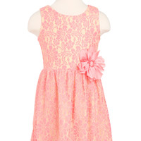 Big Girls' Lace Dress - Girls Dresses - T.J.Maxx