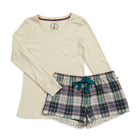 Jane And Bleecker Two Piece Pajama Gift Set