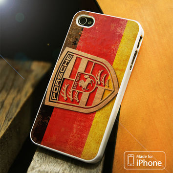 Porsche German Logo iPhone 4(S),5(S),5C,SE,6(S),6(S) Plus Case