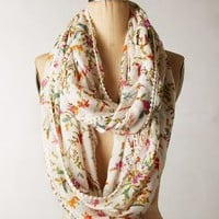 Blumen Infinity Scarf by Anthropologie Cream One Size Scarves