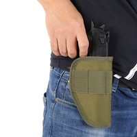 New Concealed Belt Gun Holster Holster for All Compact Subcompact Pistols Black Stock Holsters 2018