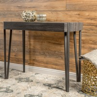 Christopher Knight Home Colville Rustic Wood Console Table | Overstock.com Shopping - The Best Deals on Coffee, Sofa & End Tables