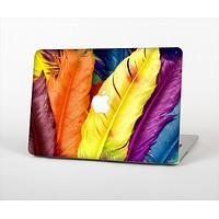 """The Hd Color Feathers Skin Set for the Apple MacBook Air 13"""""""