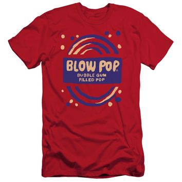 Tootsie Roll - Blow Pop Rough Short Sleeve Adult 30/1