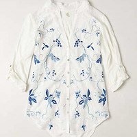 Anthropologie - Embroidered Willa Top
