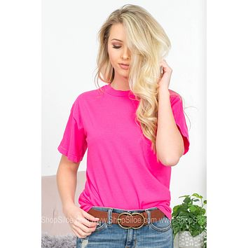 Comfort Colors Monogram Short Sleeves Top | Colors