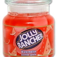 Amazon.com: Jolly Rancher by Hanna's Candle 16.75-Ounce Jolly Rancher Watermelon Jar Candle: Home & Kitchen