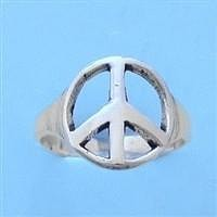 Peace Sign Toe Ring