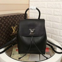 Louis Vuitton Lv Leather Lockme Backpack Bag #9641 - Best Deal Online