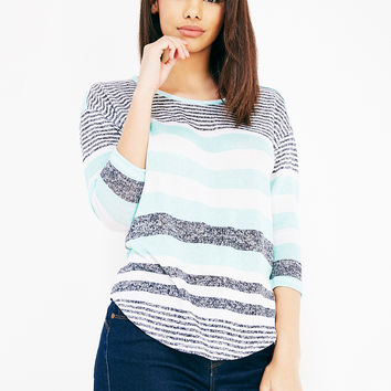 Almost Famous™ Striped Pullover | Wet Seal