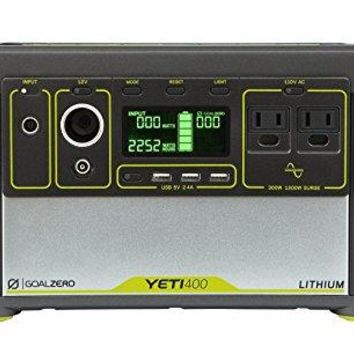 Goal Zero Yeti 400 Lithium Portable Power Station, 428Wh Rechargeable Generator