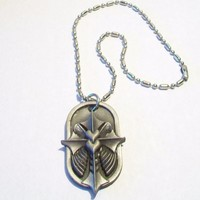 eBlueJay: Winged Cross Necklace Car Mirror Accessories In Art As In Love Instinct Is Enough