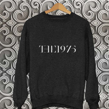 the 1975 sweater Black Sweatshirt Crewneck Men or Women Unisex Size