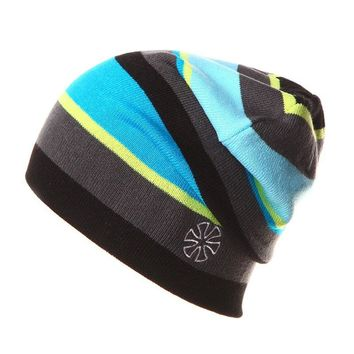 SU.SN.SK Autumn Winter Caps Striped Beanie Winter Hat For Women And Men Beanies Outdoor Ski Skate Skullies Sport Hats