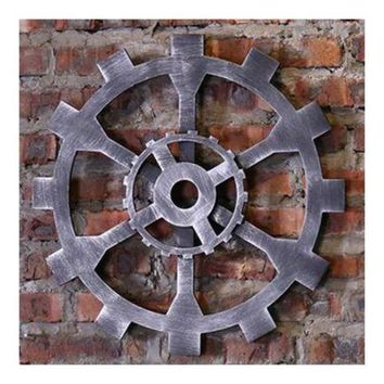 Industrial Style Gear Wall Haning Decoration    E