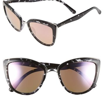 Quay Australia 'Retro' 50mm Cat Eye Sunglasses | Nordstrom