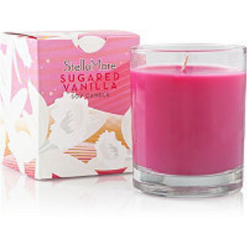 Stella Mare Glass Soy Candle-Limited Edition Fall Scents Sugared Vanilla Ulta.com - Cosmetics, Fragrance, Salon and Beauty Gifts
