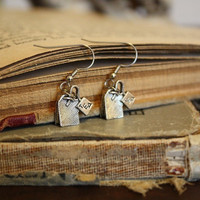 Tea Bag Earrings