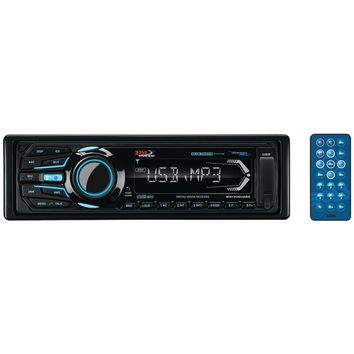 Boss Audio Marine Single-din In-dash Mechless Am And Fm Receiver With Bluetooth (black)