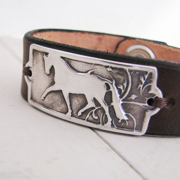 PMC Silver Horse Jewelry Artisan Handmade Fine by SilverWishes