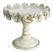 Floral Cake Stand Wedding and Event Tabletop Decor