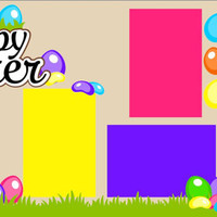 Scrapbook Page Kit or Premade Layout 12X12 2-Page Easter-Hoppy Easter Girl
