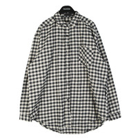 Basic Checkered Shirt by Stylenanda
