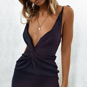 Roisin Dress Midnight