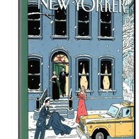 The New Yorker Cover - February 10, 1997 Premium Giclee Print by Jean Claude Floc'h | the NEW Art.com