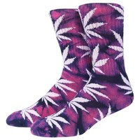 HUF Plantlife Crew Sock Tie Dye - Men's at CCS