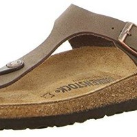 Gizeh (Women's) Cork-Footbed Flat Sandals in Mocha Brown [New Style] sale  sandals  mayari  arizona  promo boston cheap