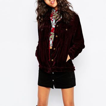Native Rose Stevie Nicks Velvet Jacket