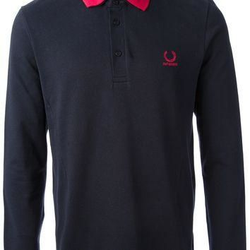 Raf Simons - Fred Perry Long Sleeve Polo Shirt