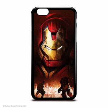 Hulk Meets Hulkbuster Marvel Comics Characters Case For Iphone Case