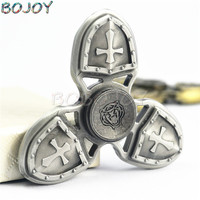 heavy Tri-Spinner Toys Sensory Fidget spinner metal Autism ADHD Hand Spinner Anti Stress Funny gift EDC Rotation Long Time