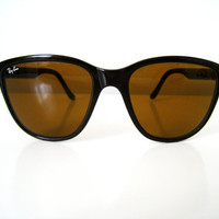 Vintage Ray Ban Oversized Wayfarer Sunglasses by CutandChicVintage