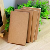 DIY Vintage Kraft Paper Notebook Creative Journal Notepad For Kids Gift School Supplies Korean Stationery Free Shipping 076