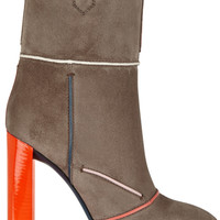 Fendi - Suede ankle boots