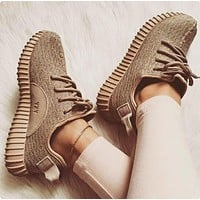 """Adidas"" Women Yeezy Boost Sneakers Running Sports Shoes"