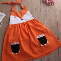 Little Fox Summer Dress