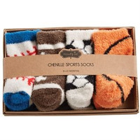 CHENILLE SPORTS SOCK SET BY MUDPIE