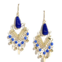 Shimmy Shake Royal Blue Earrings