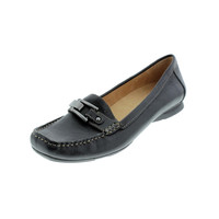 Naturalizer Womens Sophie Leather Embellished Loafers