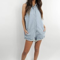 Denim Daze Romper