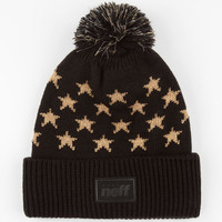 Neff Starboard Beanie Black/Gold One Size For Men 24590777401