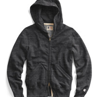 Classic Zip Hoodie in Charcoal Heather
