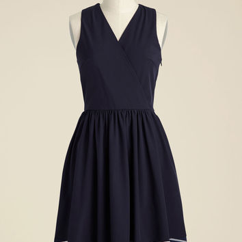 Coordinator in the Court A-Line Dress | Mod Retro Vintage Dresses | ModCloth.com